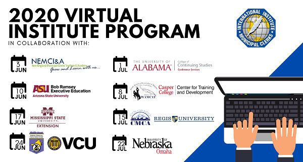 2020 Virtual Institute Zoom Banner