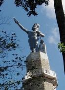 Vulcan statue